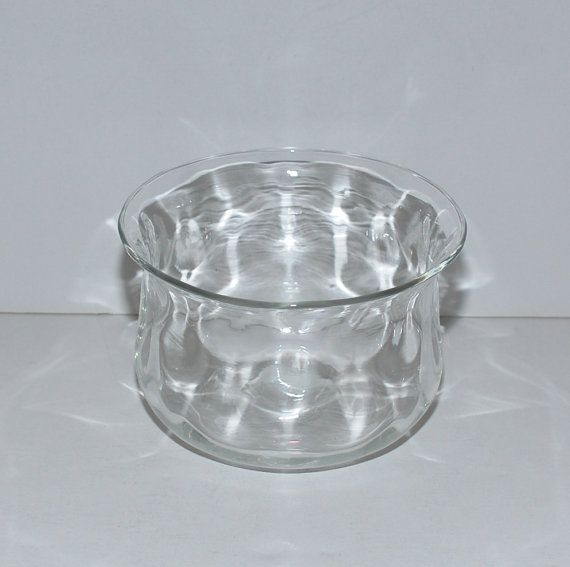 Vintage Thomas Webb Glass Bowl circa 1930s-1940s by Abundancy
