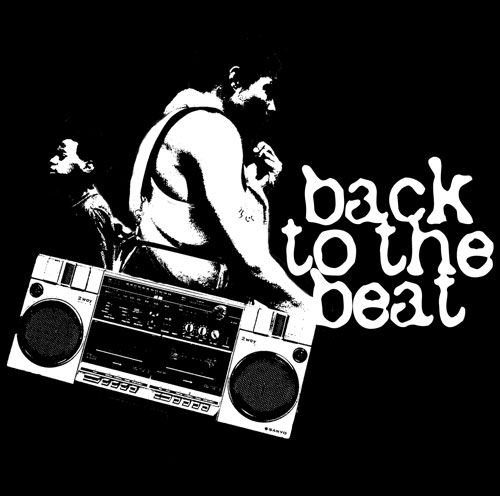 Back To The Beat - Old school hip hop. #blackandwhite #music http://www.pinterest.com/TheHitman14/black-and-white/