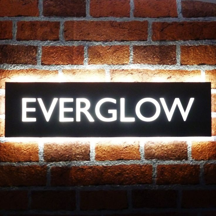 17 best images about illuminated led house name plates on Led house numbers