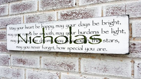 Customized Baby Boy S Nursery Sign By Designsofexpression Name Signsbaby