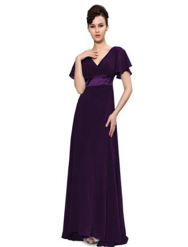 Ever Pretty Glamorous Double V-Neck Ruffles Padded Evening Dress 09890, HE09890PP06, Purple, 6UK Ever-Pretty http://www.amazon.co.uk/dp/B00EPYB4KM/ref=cm_sw_r_pi_dp_Y9gbvb0C11Q8V