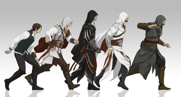 Ezio Auditore Da Firenze,one of my favorite video game characters of all time.