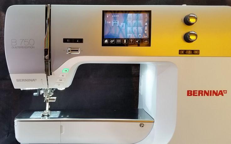 Bernina 750 máquina de coser