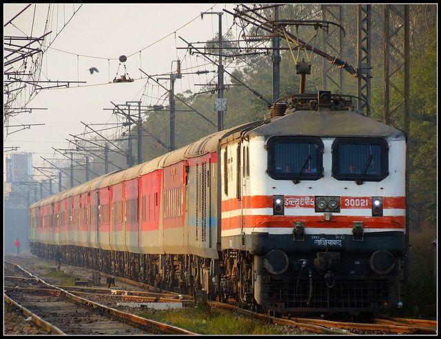 12954 August Kranti Rajdhani express   Flickr - Photo Sharing!
