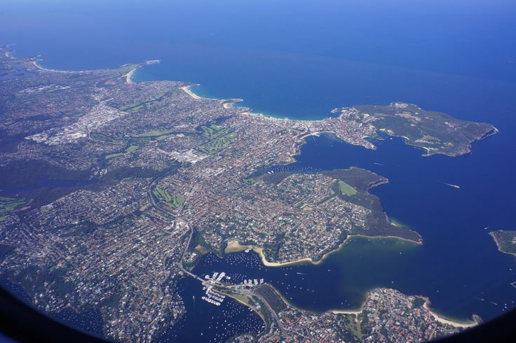 View over Manly beach and The Spit | Virgin Australia