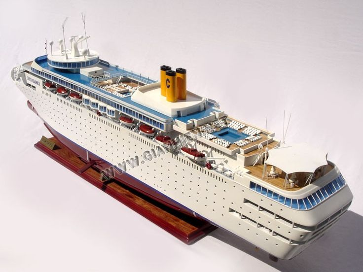 Best Costa Cruise Liners Images On Pinterest Cruise Ships - Cruise ship model kits