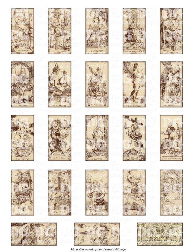 tarot card size template
