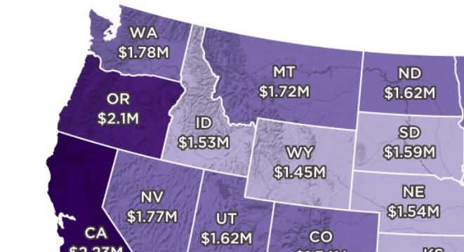 How Much Money You Need To Retire Early In Every State Early Retirement Online Earning Retirement Age
