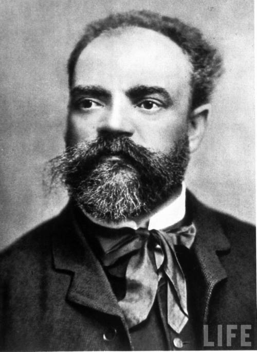 "Antonin Dvorak, Czech composer, pianist, violist, and mastermind behind brilliant symphonies and string quartets (The ""American"" String quartet)"