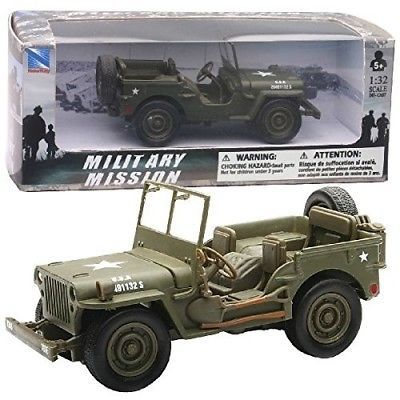 1-32-DIE-CAST-JEEP-WILLYS-New-ray-Toys-Delivery-is-Free