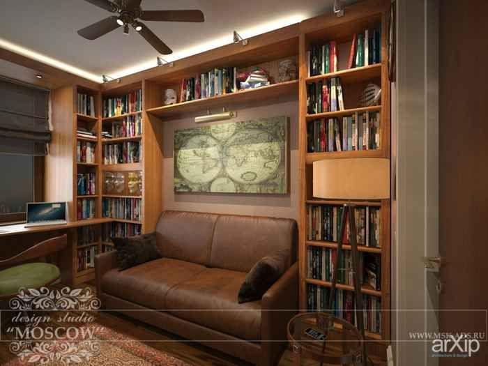 Дизайн квартиры студии 33, кремовые стены в интерьере фото