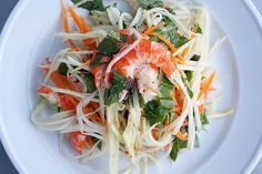 Vietnamese Green Pawpaw Salad