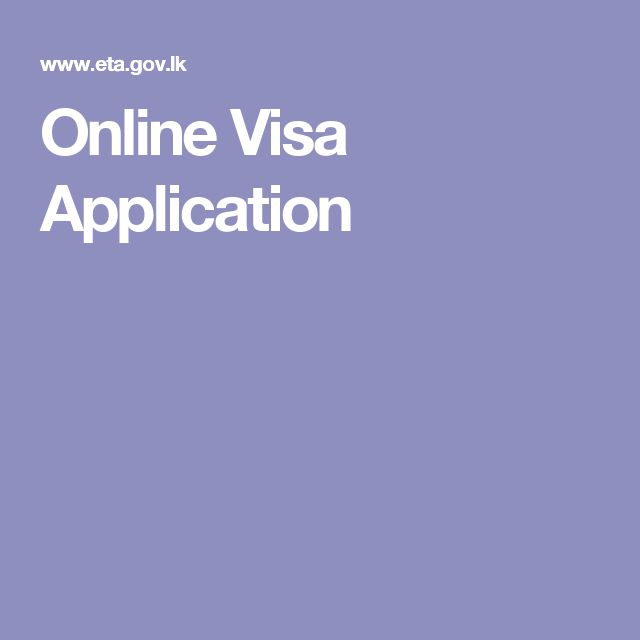 Online Visa Application