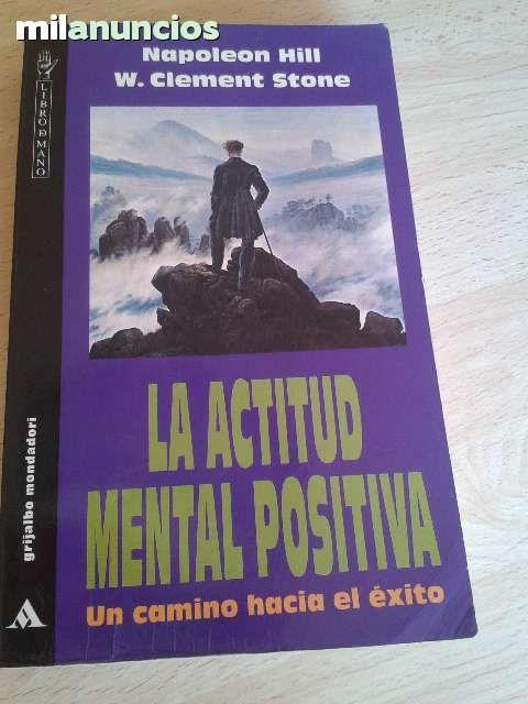 """VENDIDO.Vendo libro """"La actitud mental positiva"""" Autor: Napoleon Hill. W. Clement Stone. Anuncio y más fotos aquí: http://www.milanuncios.com/libros/la-actitud-mental-positiva-un-camino-135963199.htm"""