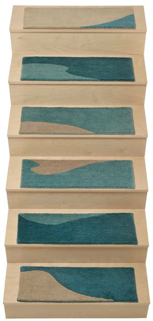 Alto Steps: Adhesive Stair Carpet Pieces