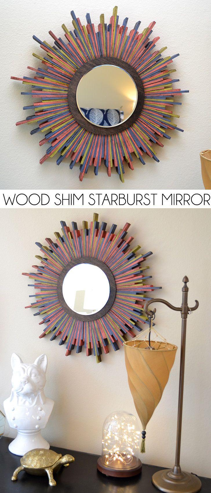 Diy Mirror Projects 136 Best Espejos Con Detalles De Manualidades Images On Pinterest