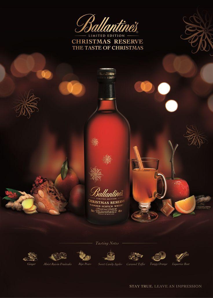 Ballantines Whisky Ad