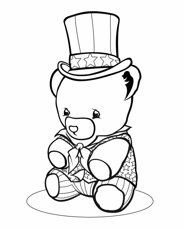labor day coloring pages american flag