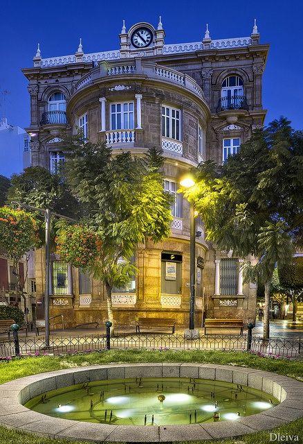 Plaza del Educador - Paseo de Almeria, Spain, #tourism, http://www.tripcaddy.es