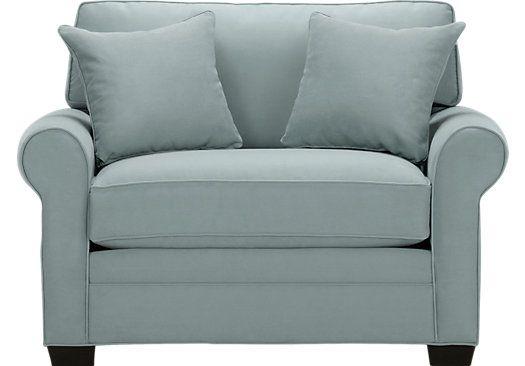 Bellingham Hydra Chair - Oversized - Contemporary, MicroFiber