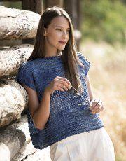 Heft Damen Sport 92 Frühjahr / Sommer | 3: Damen Poncho | Jeans