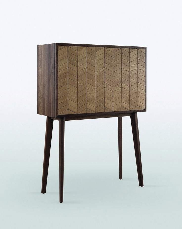 Vintage sideboard with modern function
