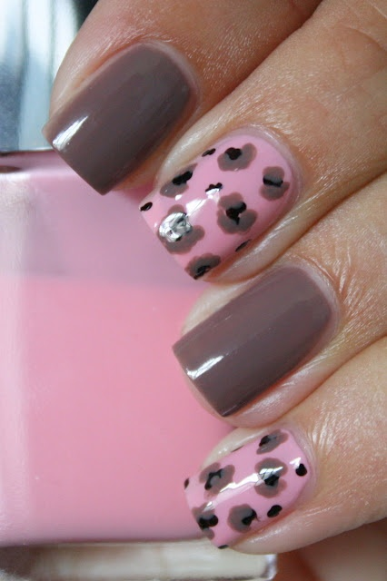 grape fizz nails: Nails Check, Nails Nails, Fizz Nails, Dark Color, Pink Cheetah, Nails Art, Beautiful Nails, Color Combos, Leopards Nails