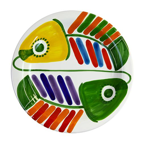 Ceramiche De Simone - Plates - PTFI - Filicudi Decoration