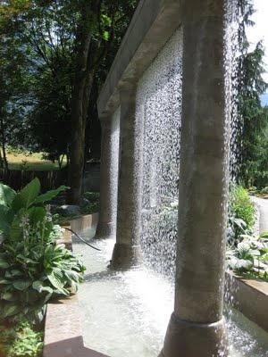 garden water wall #garden #secretgarden