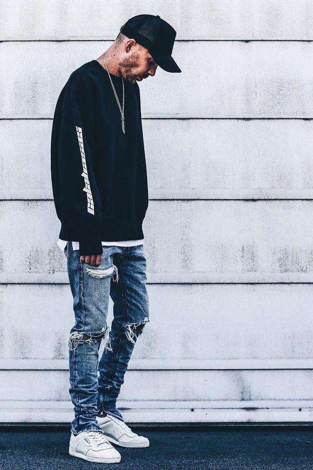 Yeezy Calabasas Shoes Outfit