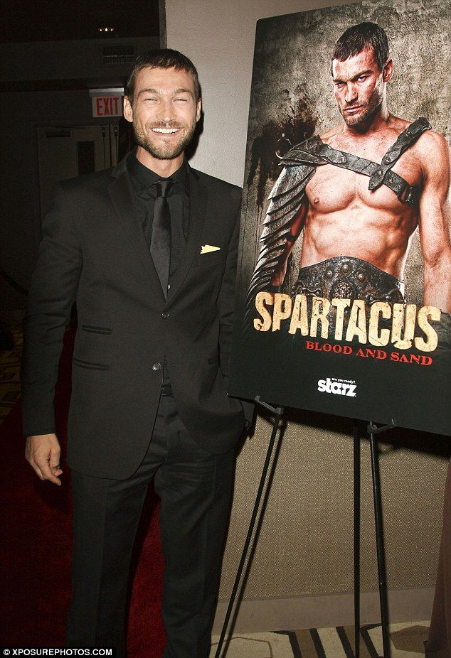 ":(    ""British-born actor Andy Whitfield, star of the TV series Spartacus: Blood and Sand, has died of non-Hodgkin lymphoma, it was confirmed Sept. 12, 2011.  The star, who was born in Amlwch, Wales, but moved to Sydney in 1999, lost his 18-month battle with the disease on a 'sunny Sydney morning in the arms of his loving wife (Vashti),' she said in a statement."""