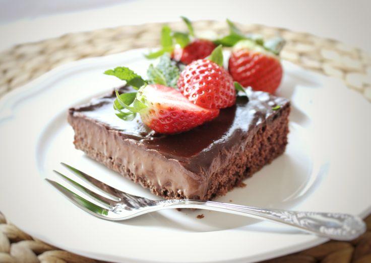 Džairin čokoládový koláč plný lásky