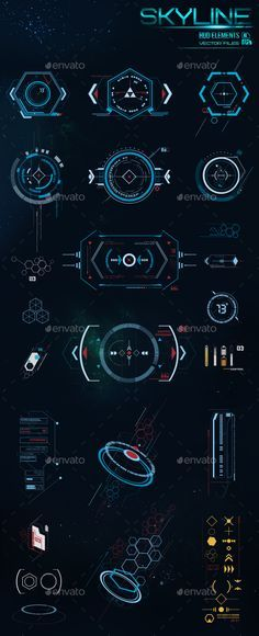 HUD Elements. Download: https://graphicriver.net/item/hud-elements-/17159709?ref=thanhdesign
