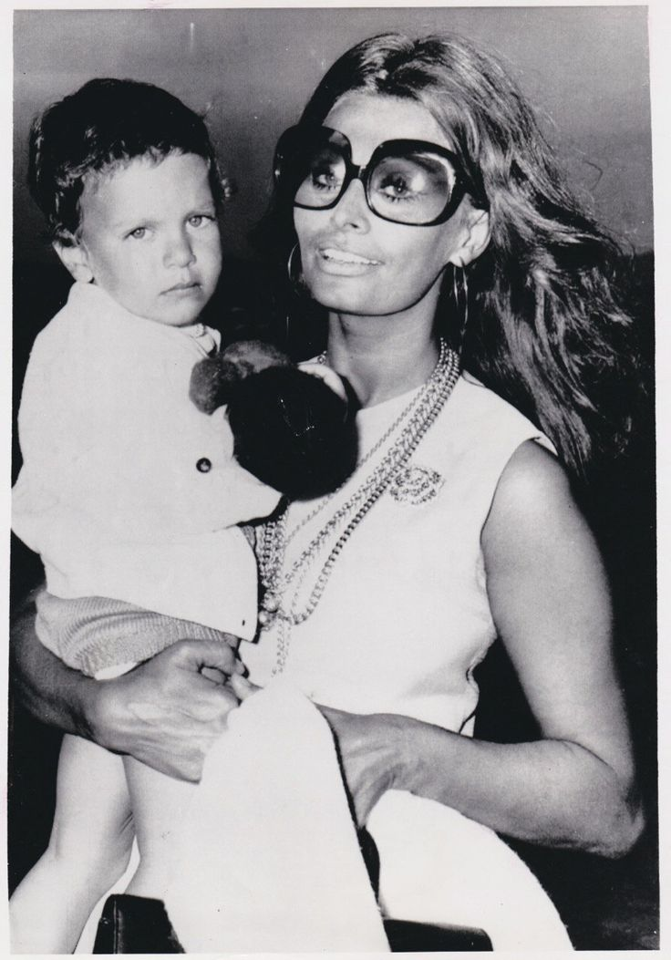 Vintage Original photograph Sophia Loren & Carlo Ponti Jr. -Rome, Italy - dated: 8/1/70 by MODERNAIRES on Etsy https://www.etsy.com/listing/194422190/vintage-original-photograph-sophia-loren