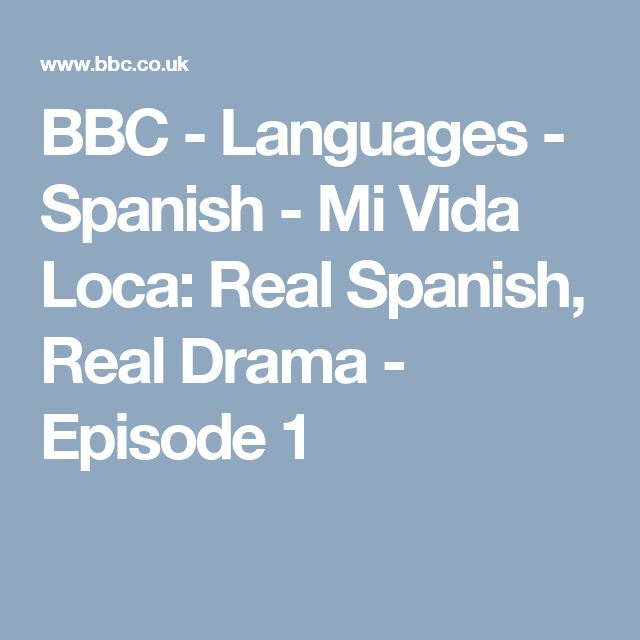 Spanish speaking latino and bbc
