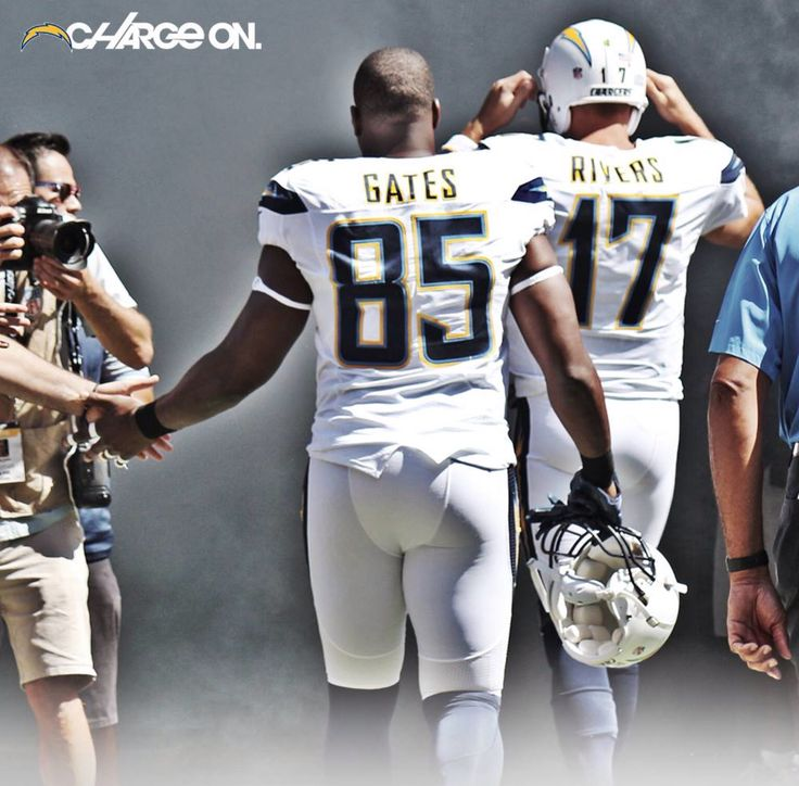 Gates And Rivers Charge On! White Hot Sunday! San Diego Chargers! ⚡️