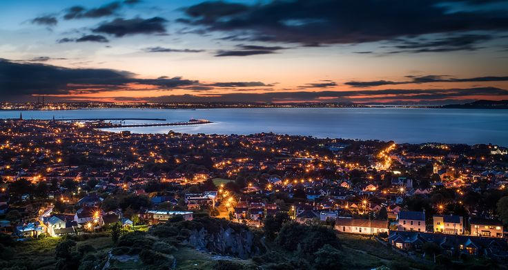 Dun Laoghaire, from Killiney Hill