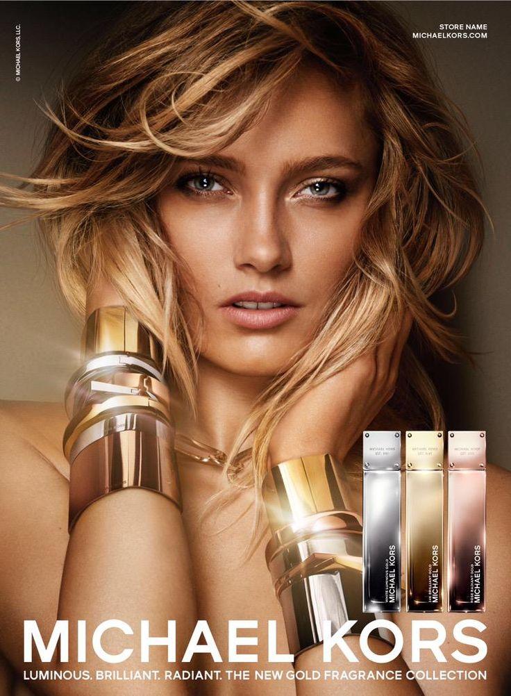 Karmen Pedaru for Michael Kors fragrance advertising campaign   Supernatural Style