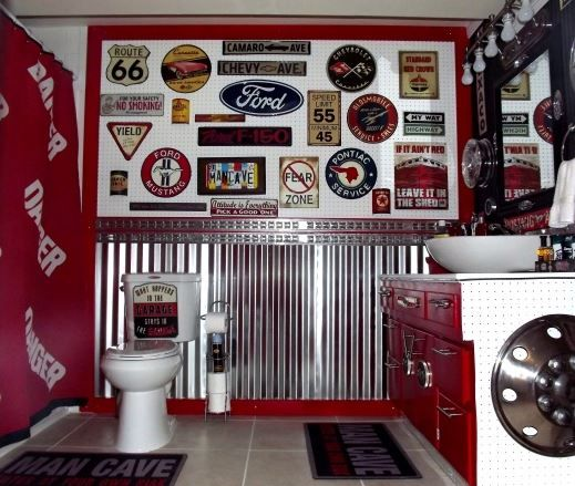 """A different kind of """"man cave""""  - PlumberSurplus.com"""