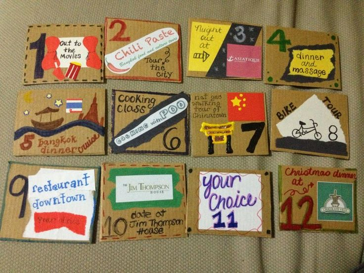 12 Months Of Dates Wedding Gift: 12 Months Of Dates
