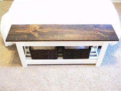 Best 25+ Bed bench with storage ideas on Pinterest | DIY furniture ...