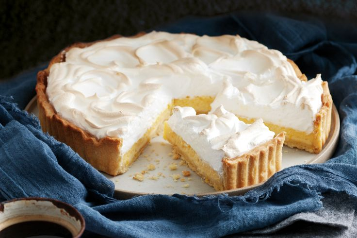 Dessert-lovers will be delighted with this twist on classic lemon meringue pie.
