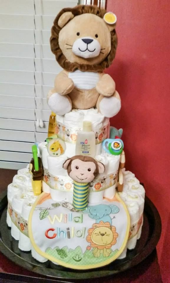 17 Best ideas about Jungle Diaper Cakes on Pinterest ...