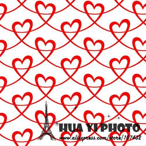 150*150 СМ Красные сердца Новые Фотографии Фонов Фотостудия Реквизит Новорожденных Животных Фотографии Фоном ткань D-9439