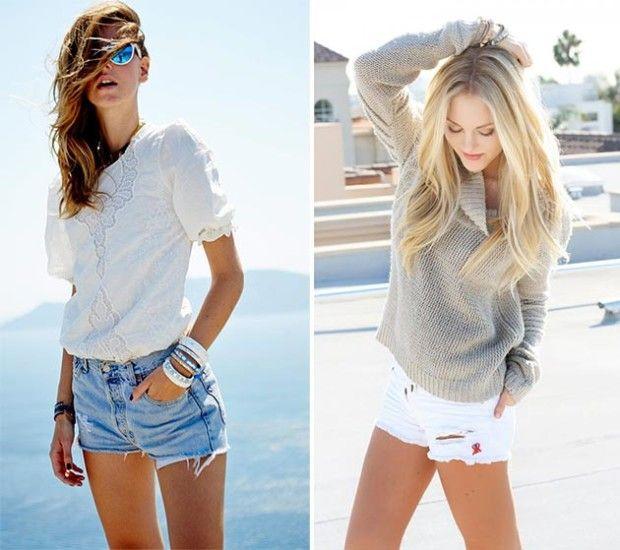 Denim Shorts 2016 Summer Fashion Trends