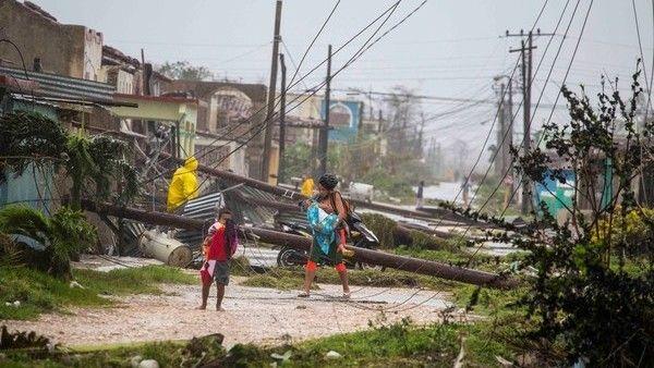 Casas destruidas toneladas de escombros e inundaciones en Cuba tras el paso del huracán Irma - Clarín.com
