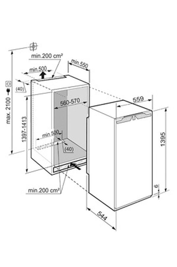 Réfrigérateur encastrable Liebherr IK 2754 PREMIUM