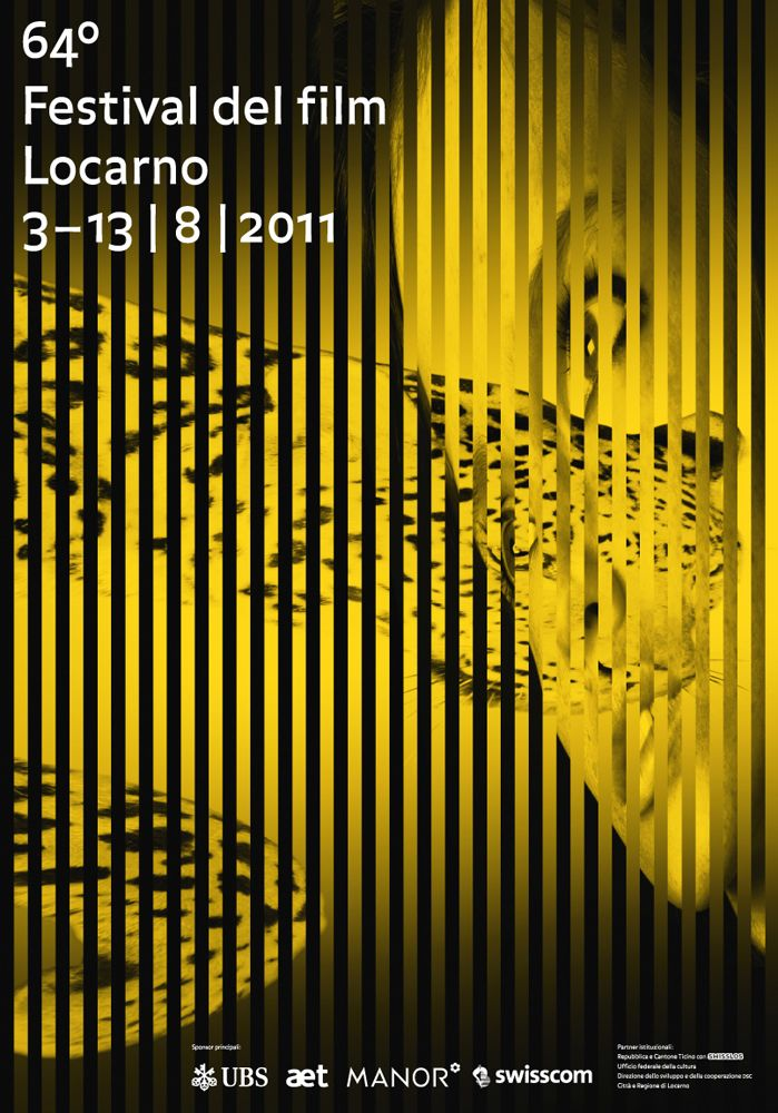Poster F4 of the 64° Festival del film Locarno