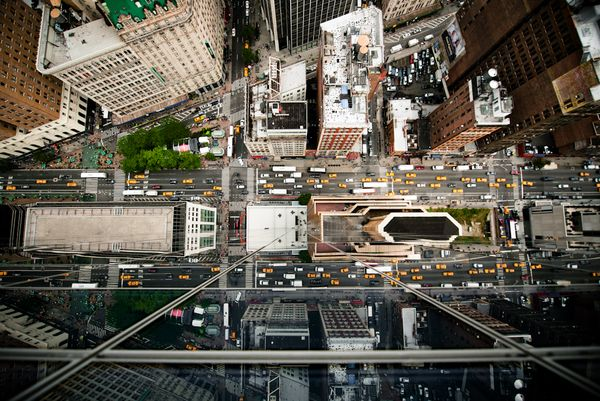 Intersection   NYC by Navid Baraty, via Behance