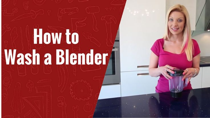 How to Clean a Magic Bullet or a Blender